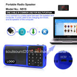 Speaker portatile con il MP3 Player (N519)