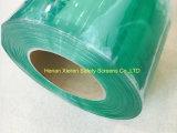 Tende di plastica verdi antistatiche della striscia