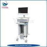 Carrito para portátiles ECG para hospitales y médicos