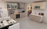 2017 mobília elevada nova da cozinha do lustro Lacquer/UV da boa qualidade da forma (ZX-039)