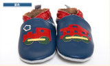 赤いFish Leather Baby Sandals (靴)