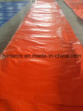 Couverture orange en plastique de bâche de protection de la Chine, roulis de bâche de protection de PE