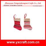 Charmes de Noël de chaussette de l'hiver de Noël de la décoration de Noël (ZY14Y160-1-2-3)