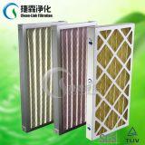 Filter van de Lucht van de airconditioning de Synthetische Vezel Geplooide