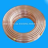 Tipo destemplado B819 L tubo de cobre de ASTM para el gas médico