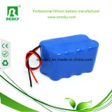 18650 paquete de la batería del Li-ion de 4s2p 14.8V 5200mAh para el instrumento médico