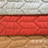 Tissus à la maison piquants décoratifs de polyester de textile de ficelle