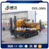 машина Borehole 200m используемая Dfl-200s Drilling для сбывания