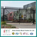 PVC에 의하여 입히는 직류 전기를 통한 강철 Palisade Fence/W 모양 강철 Palisade 검술