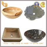 Тазик мрамора & гранита каменный, раковины мытья, раковина ванной комнаты