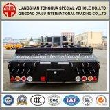 2 de Assen Verwijde Semi Aanhangwagen van Lowbed van het Vervoer van het Graafwerktuig Fuwa