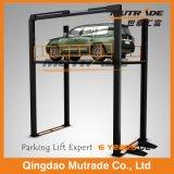 Vier Pfosten-hydraulischer Fußboden-Auto-Aufzug-Tisch