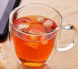 чашка молока стены двойника кофейной чашки кружки кофеего кружки 350ml стеклянная