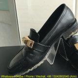 Crémaillère d'étalage acrylique claire populaire pour des chaussures