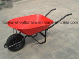 Wheelbarrow vendável Wb5205 do mercado de 65L Europa