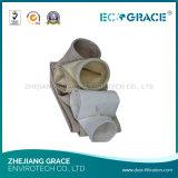 Saco de poeira de pano de filtro do poliéster para a metalurgia do ferro e do aço