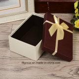 Boîte-cadeau personnalisée de modèle de mode de qualité avec la bande