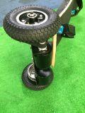 고무 큰 타이어 4 바퀴 E 스케이트보드