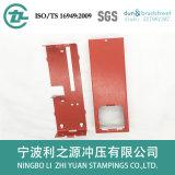 Красный шкаф огнетушителя штемпелевать металла