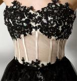 Spitze-abnehmbare Brautjunfer kleidet Art-Hochzeitsfest-Kleider