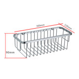 Sanitary Ware en acier inoxydable Single Wire Wall Mounted Bath Rack (SUS304)