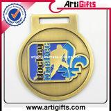 めっきされた銀が付いているカスタマイズされたデザイン金属メダル