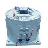 Engrenagem & atuador giratórios de direção da aleta
