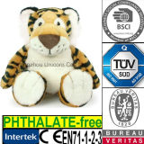 Brinquedo macio do luxuoso do tigre do animal enchido do algodão dos PP do CE