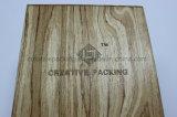 최신 디자인 단단한 나무 베니어 향수 선물 상자