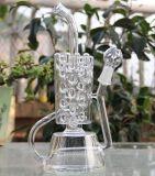 新しく創造的なデザイン水ぎせるのガラス煙る管