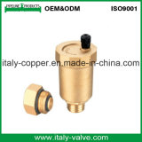 カスタマイズされた品質の黄銅は造ったエア・ベントの球弁(IC-3008)を