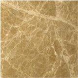 Material de construção Light Emperador Brown Marble Tiles Decorative Marble Pieces