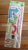 Autoadesivi dimensionali adesivi del mestiere del documento Handmade di Scrapbooking di scintillio creativo di abbellimenti