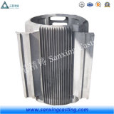 Il pezzo fuso di investimento di alluminio del ODM dell'OEM la pressofusione per il coperchio del motore