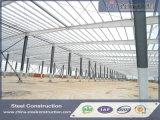 Fábrica prefabricada industrial/almacén/planta de la estructura de acero del palmo grande