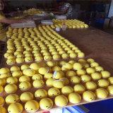 Brinquedos Squishy de Gudetama dos ovos preguiçosos preguiçosos de borracha por atacado do amarelo das esferas de Gudetama (MQ-GE05)