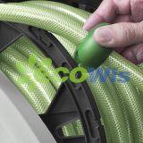 Bobina automatica del tubo flessibile di giardino con il funzionamento del piede