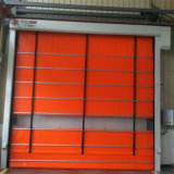 Industrielles elegantes Aluminiumprofil-automatische stapelnde Rolle herauf Tür