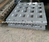 Fisso e Swing Jaw Plate per Jaw Crusher