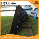 Le stade extérieur d'intérieur folâtre l'écran/panneau/panneau-réclame/signe d'Afficheur LED de périmètre (le football, le football, le basket-ball)