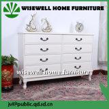 Gabinete de madeira da gaveta da mobília da sala de visitas (W-B-A1027)