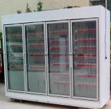 Porte en verre de pharmacies avec le verre isolant de vide