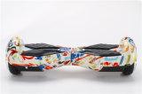 """""""trotinette"""" elétrico de 6.5 rodas do modelo dois da polegada com luz fresca do diodo emissor de luz"""