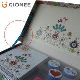 Blume gedruckter Geschenk-Kasten-Karton-steifer verpackenkasten