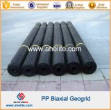 Polypropylene plástico PP Geogrids biaxial 20kn 30kn 40kn