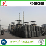 Preço de carbono ativado com cilindro baseado em carvão em Kg