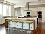 주문을 받아서 만들어진 현대 높은 광택 있는 백색 래커 + 갱도지주 완료 부엌 찬장 (BY-L-107)