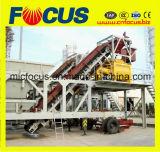 Automatische Mobiele Concrete het Groeperen Installatie 35m3/H, Bewegende Concrete het Mengen zich Installatie