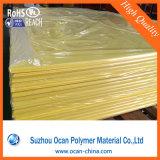 플라스틱 레이블 인쇄를 위한 엄밀한 PVC 노란 천연색 필름