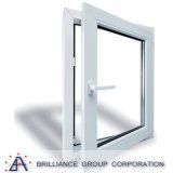 Indicador de vidro de alumínio do indicador do Casement/do Casement balanço do dobro